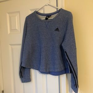 Adidas Crop Sweatshirt Size M